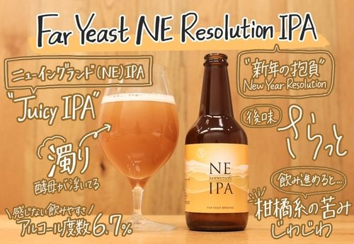Far Yeast NE Resolution IPA